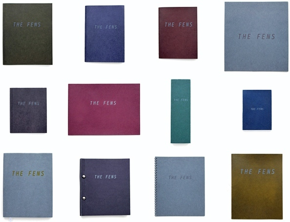 The Fens is an ongoing multi-part work comprising a set of artist's books alongside photographs (with GPS locations), which document and map the hundreds of individually named fens in East Anglia, and together attempt to explore notions of 'place', its complexity and impossible completeness.